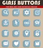 Blog icon set. Blog web icons for user interface design Royalty Free Stock Image