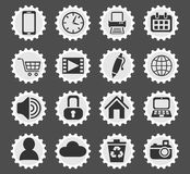 Blog icon set. Blog web icons for user interface design Stock Photos