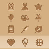 Blog icons 2 Stock Photo