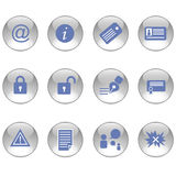 Blog icons Stock Images