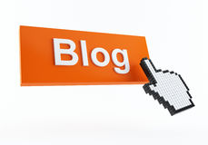 blog ikona Obraz Royalty Free