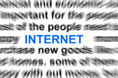 Blog or internet concept Royalty Free Stock Photo