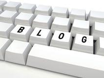 Blog kayboard Royalty Free Stock Image