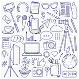 Blog Object Set Stock Images