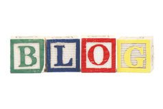 Blog title Stock Photography