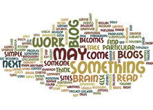 From Blog To Article Text Background Word Cloud Concept Stock Images