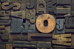 Blog wood Stock Photography