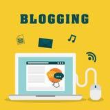 Blog y tecnología libre illustration
