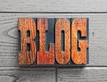Blogachtergrond Royalty-vrije Stock Foto's