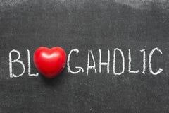 Blogaholic Lizenzfreies Stockfoto