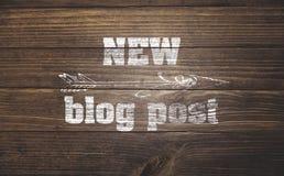 Blogaktualisierung Lizenzfreie Stockfotos