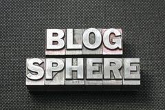 Blogbereichschwerpunktshandbuch Lizenzfreie Stockbilder