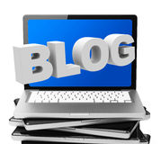 Bloggen Arkivbilder