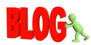 Blogger Stock Afbeeldingen