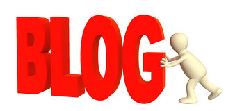blogger Στοκ Εικόνες