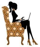 Blogger da forma ilustração stock