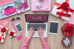 Blogger de la moda Fotos de archivo libres de regalías