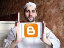 Blogger logo Fotografia Stock