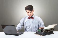 Bloggerentwicklungskonzept Lizenzfreie Stockfotografie
