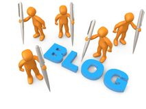 Bloggers Stock Images