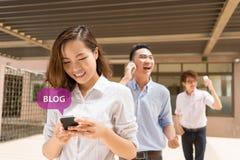 Blogging Fotografering för Bildbyråer