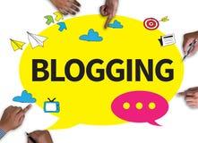 Blogging Lizenzfreies Stockfoto