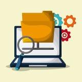 Blogging design. Media icon. Colorful illustration , vector. Blogging concept with icon design, vector illustration 10 eps graphic Royalty Free Stock Photo