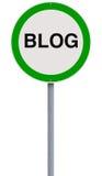 Blogging erlaubt Lizenzfreie Stockbilder