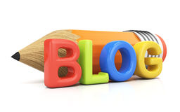 Blogging pojęcie ilustracji