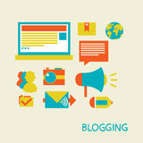 Blogging Stock Image