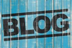 Bloghintergrund Stockbild