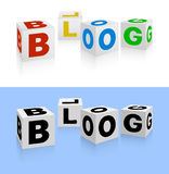 Blogikone Lizenzfreies Stockfoto