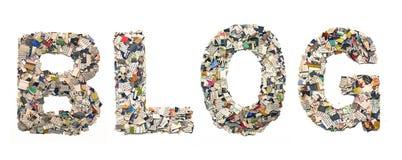 Bloging Lizenzfreie Stockfotografie