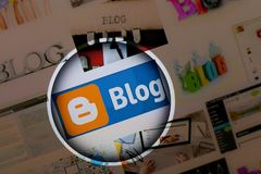 Bloglogo Stockfotografie