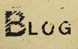 Blogname Stockbilder