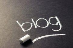 Blogonderwerp Royalty-vrije Stock Fotografie