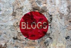 Blogschmutzkonzept Lizenzfreie Stockfotos