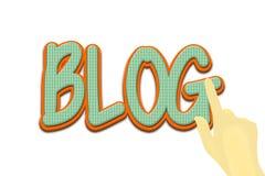 Blogsicht Stockfotos