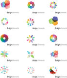 blogu projekta elementy Obraz Stock