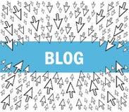 Blogue Fotos de Stock