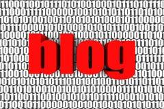 Blogue ilustração royalty free