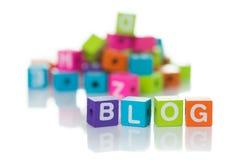 Blogue foto de stock