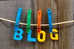 Blogue Imagens de Stock