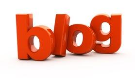 Blogwort. Lizenzfreies Stockfoto