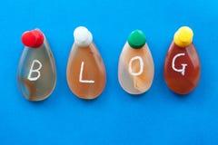 Blogwort Lizenzfreies Stockbild