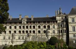 замок blois стоковое изображение