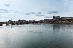 Blois auf der Loire (Frankreich) Stockfotografie