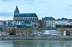 Blois auf der Loire (Frankreich) Stockfoto