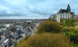 Blois auf der Loire (Frankreich) Stockbild