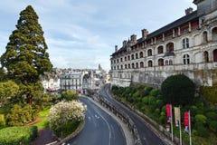 Blois auf der Loire Frankreich Stockfotos